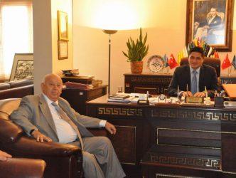 ALTO'dan Aliağa Belediye Başkanına Tebrik Ziyareti