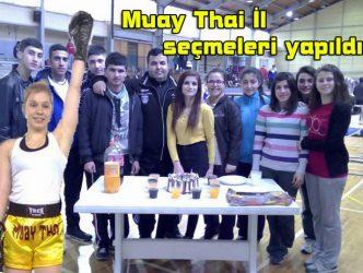 Muay Thai İl seçmeleri yapıldı